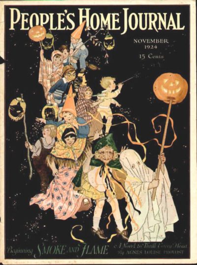 people's home journal magazine, nov 1924