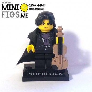 Sherlock Lego Minifigure