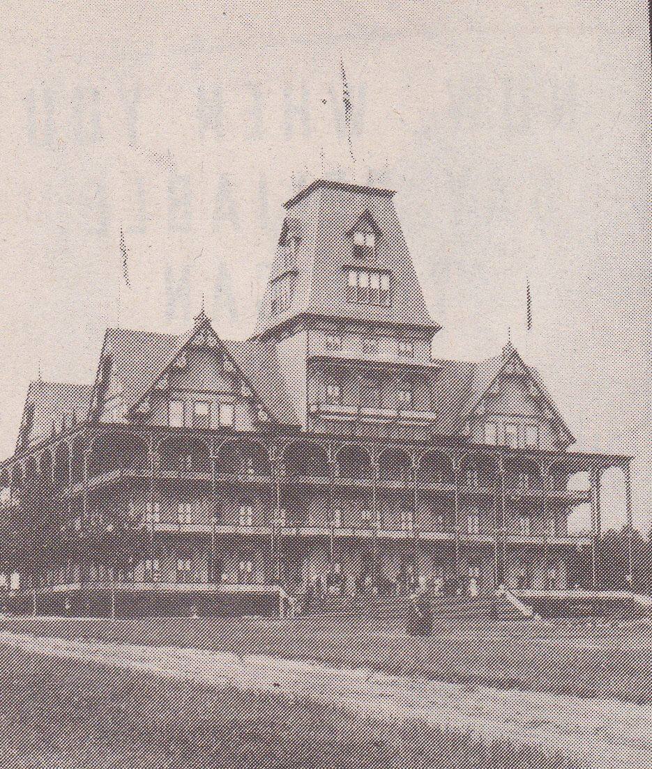 The Thousand Island park Hotel was opened for business in