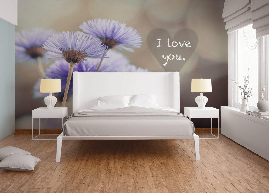 Fototapete «I love you» DD19  Fototapete, Haus deko, Tapeten