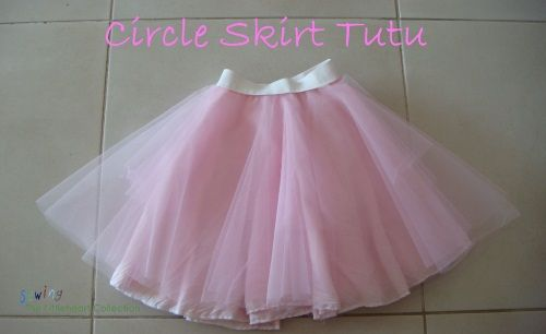 Sewing The Littleheart Collection: The Circle Skirt Tutu