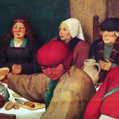 Pieter Bruegel The Elder Em Peasant Wedding