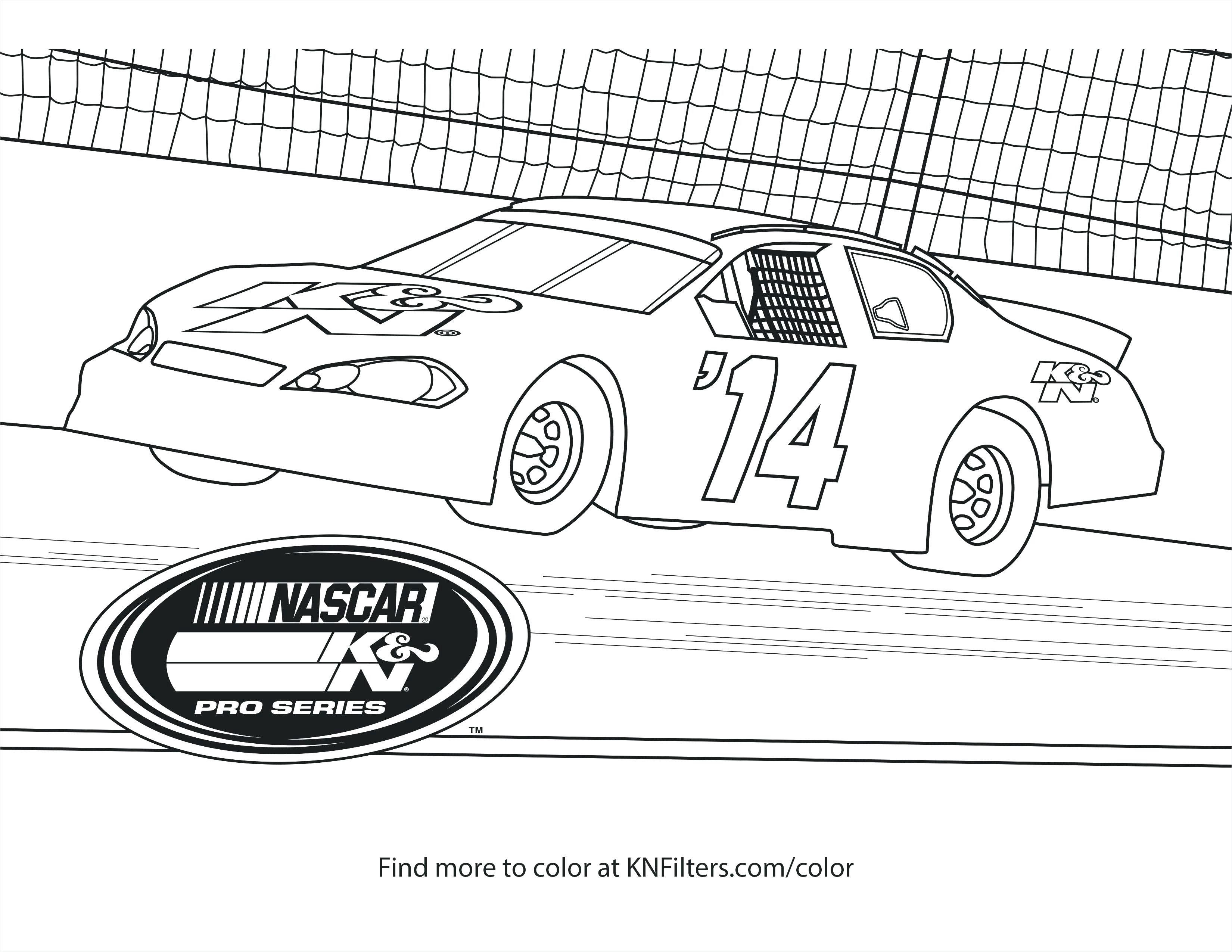 Race Car Coloring Pages Luxury Nascar Coloring Pages 24