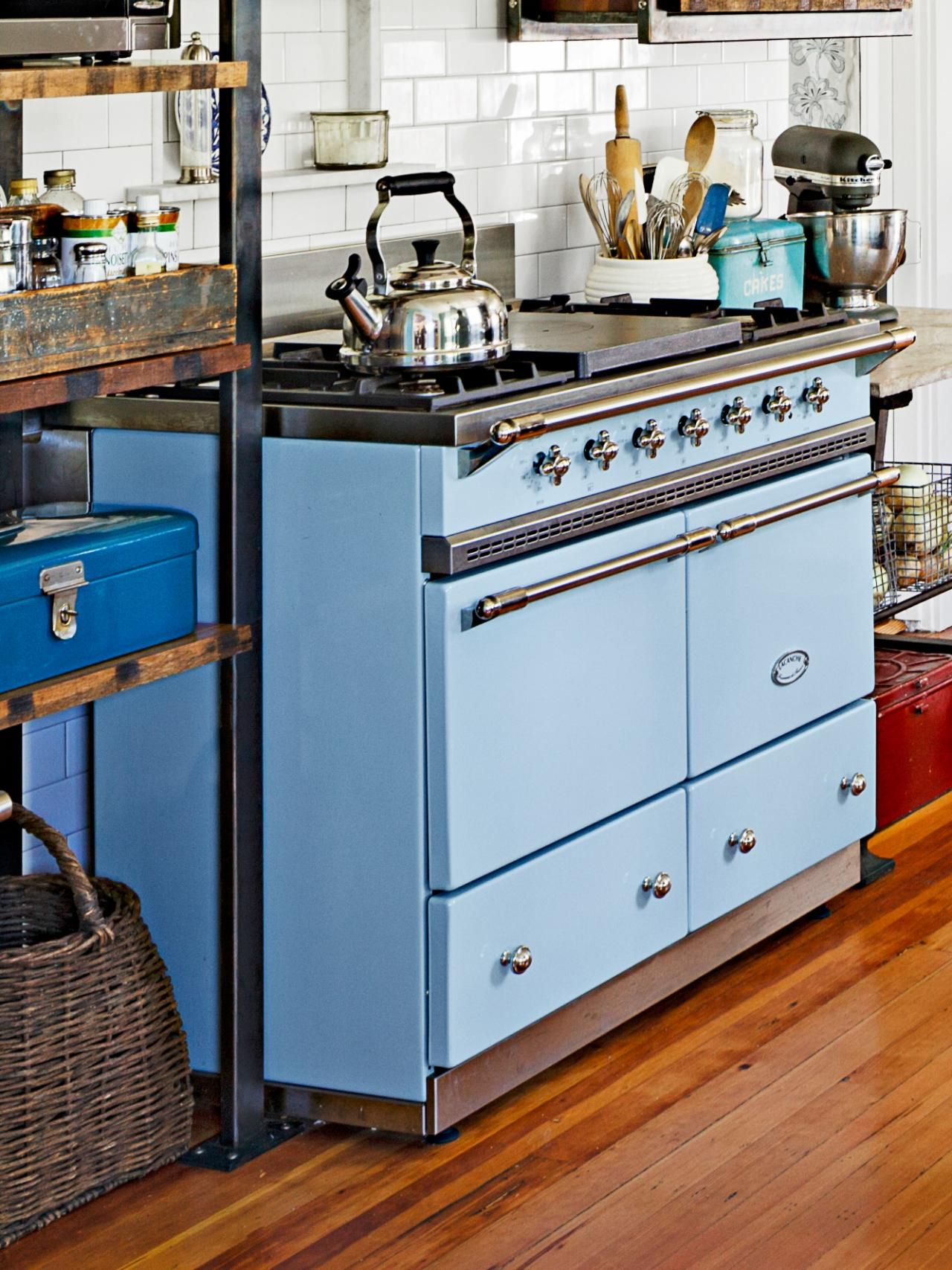 quirky kitchen design ideas to steal from hgtv magazine stove kitchen design kitchen stove on kitchen ideas quirky id=93726