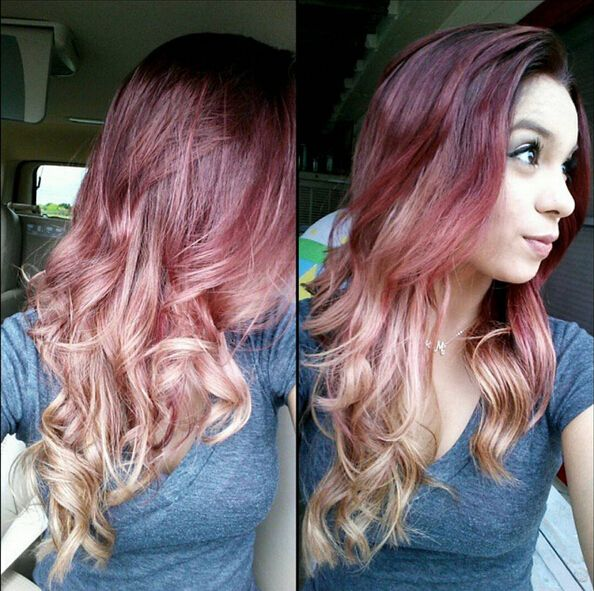 28 Hot Red Hair Color Ideas For 2016 Red Ombre Long Curly And Red