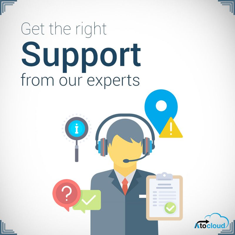 Get the right support from our salesforce experts