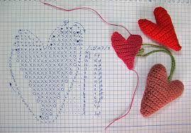 heart crochet - Cerca con Google