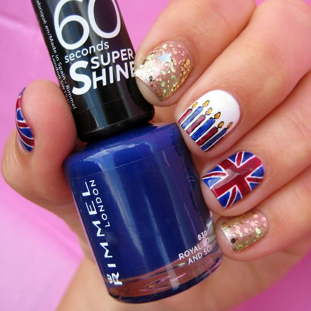 Queen's Birthday Nail Art With Beauty At Tesco