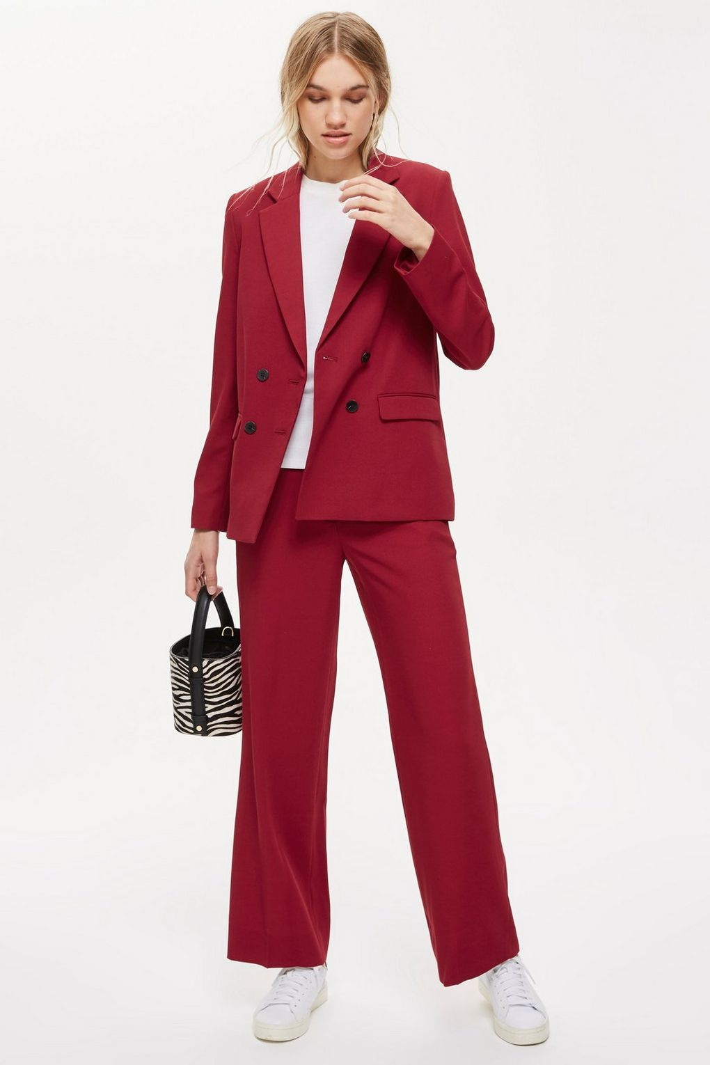 c01bc9b0230bf Slouch Burgundy Suit - Workwear   Suits - Clothing - Topshop USA  affiliate