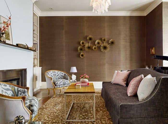 Wandfarben Ideen in neutralen Tönen für Komfort zu Hause