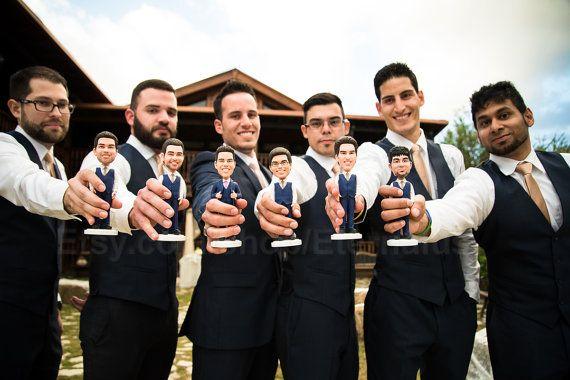 Groomsman Groomsmen Gift Ideas For Your Wedding Custom Bobble Heads
