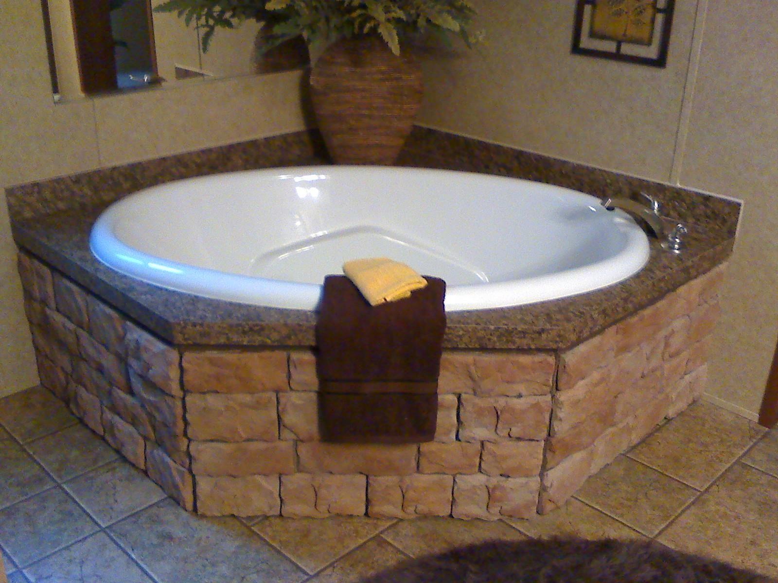 Impressive Bathroom Ideas - Natural Stone Tubs