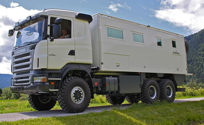 GLOBECRUISER-6500 – on a Scania chassis | things and stuff