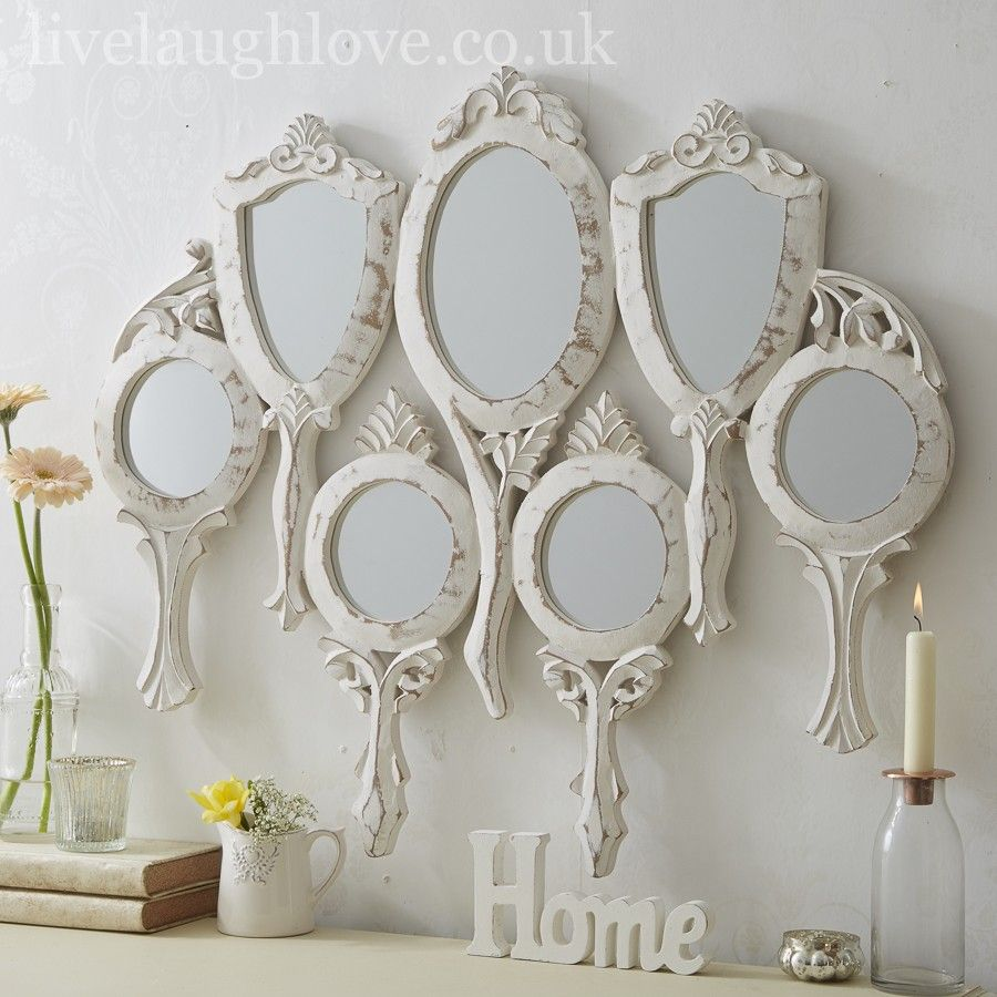 7 Piece Hand Held Large Wall Mirror Wall Mirrors Set Mirror Wall Mirror Set