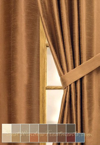 Casanova Curtain Panel available in 17 choices with a woven fabric that is  room darkening and