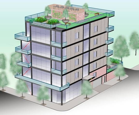 Best 5 Story Buildings Renderings And Floor Plans