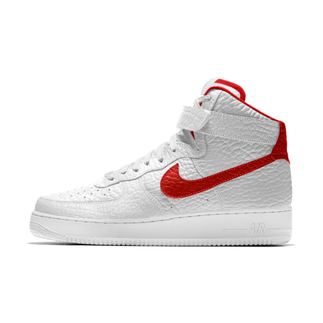 timeless design 28d25 78639 Nike Air Force 1 Premium iD (Detroit Pistons) Shoe. Nike.com UK