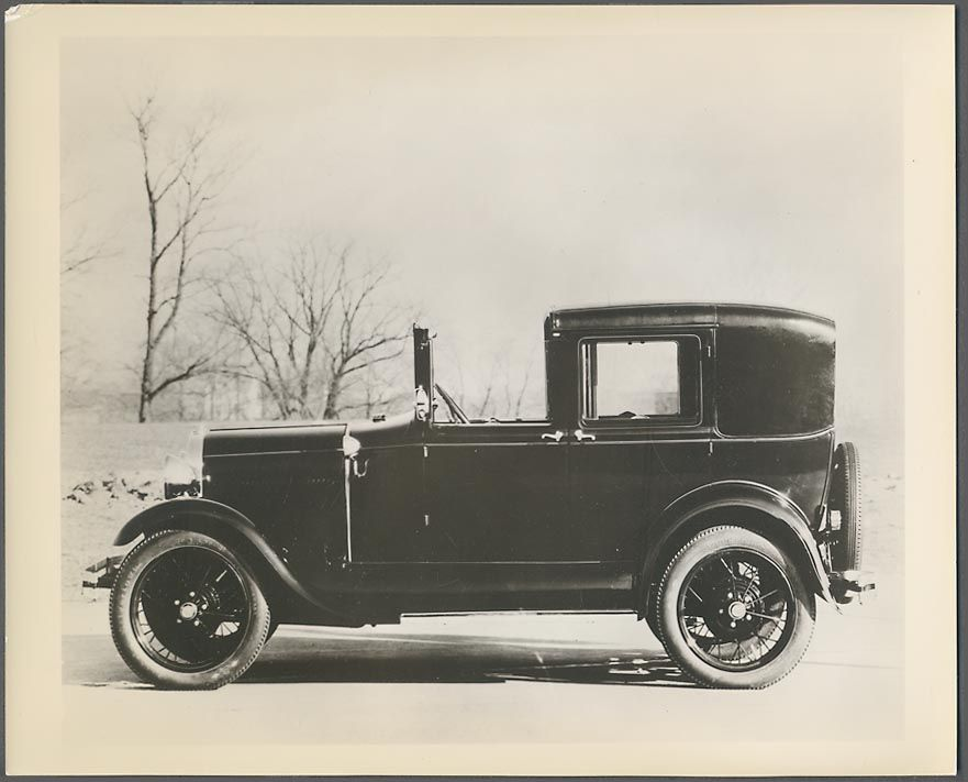 Antique Model a Ford Cars | Details about Vintage Press Photo 1929 Ford Model A Town Car 093343