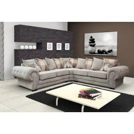 Dorado Corner Sofa Fabric Grey