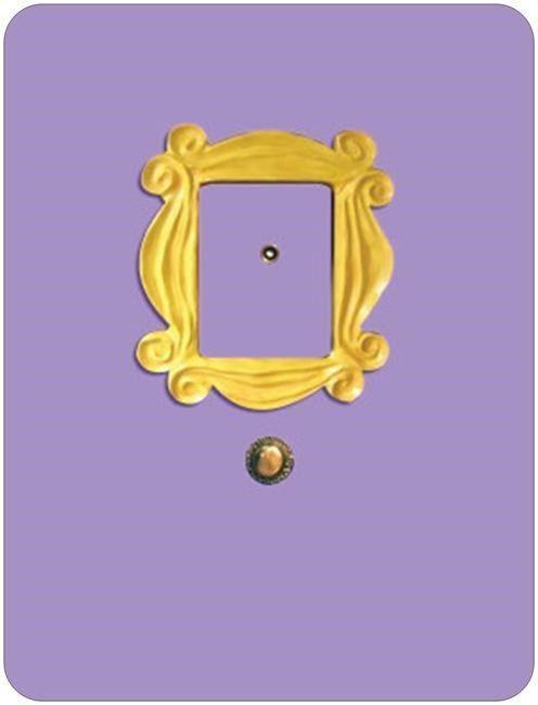 Large 8.85x11.6\  Magnet FRIENDS TV Show Monica\u0027s Peephole Door Frame  sc 1 st  Pinterest & Large 8.85x11.6\