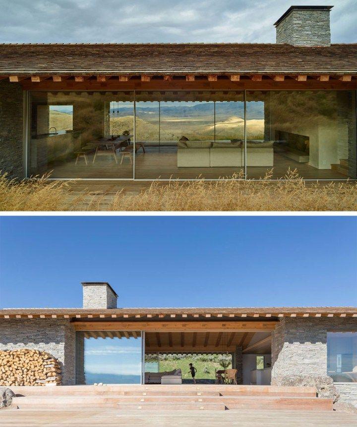 Magnífica casa en Wyoming, Estados Unidos Contemporary, House and