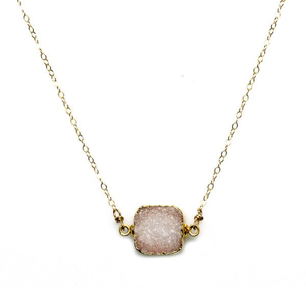 Aletha Necklace Clear, $58.00