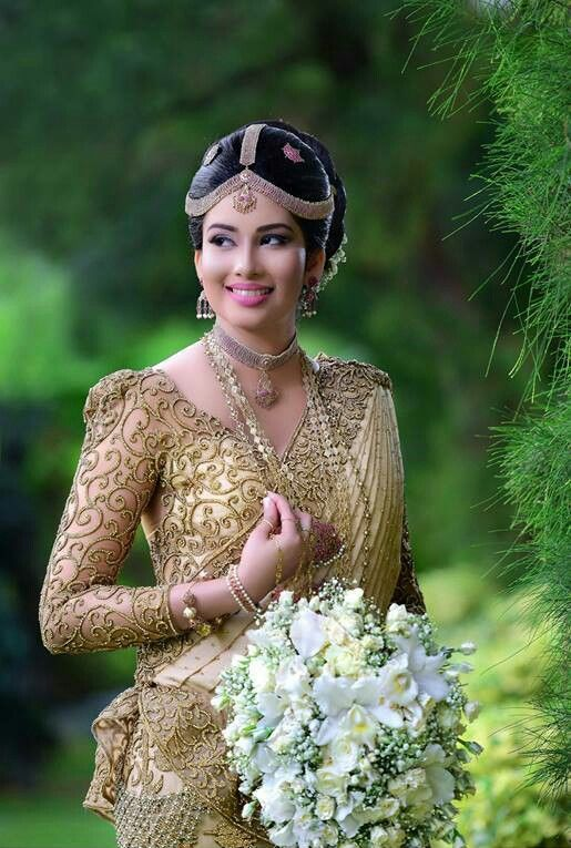 Sri Lankan Bride Civil Wedding Dresses Beautiful Wedding