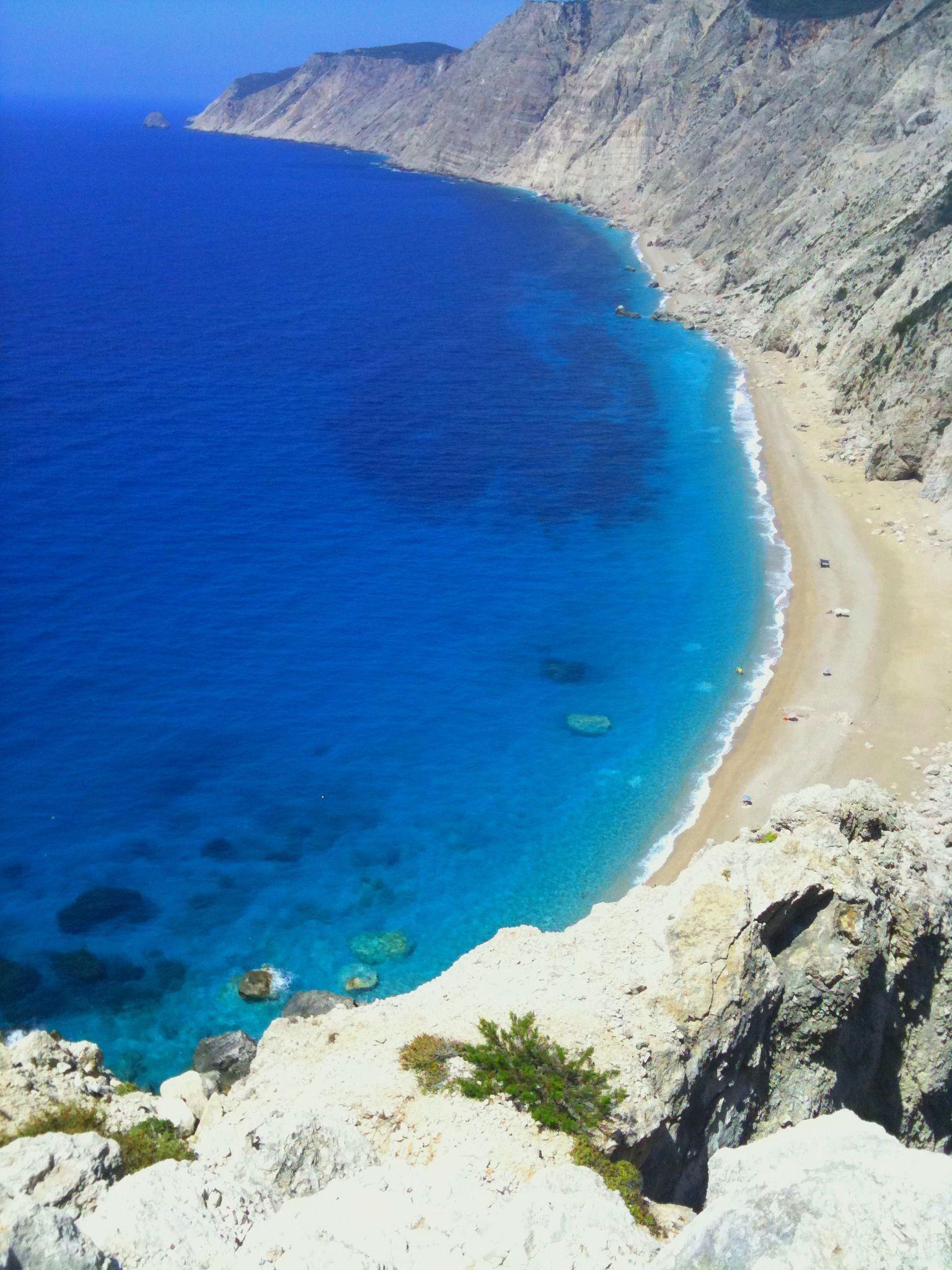 Platia Ammos beach , Kefalonia, Greece , photo by Thalia.P.