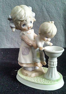 Homco 1406 Home Interior Children At Fountain Porcelain Figurine