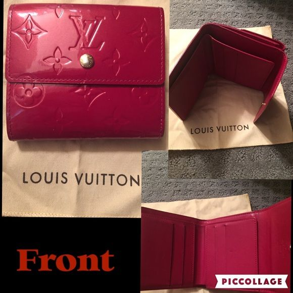 505e4ef61a Louis Vuitton Vernis Wallet & Monogram Key Holder Beautiful Shiny ...