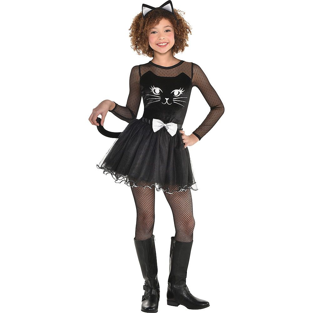 girls kitty kat costume in 2018   halloween   pinterest   costumes