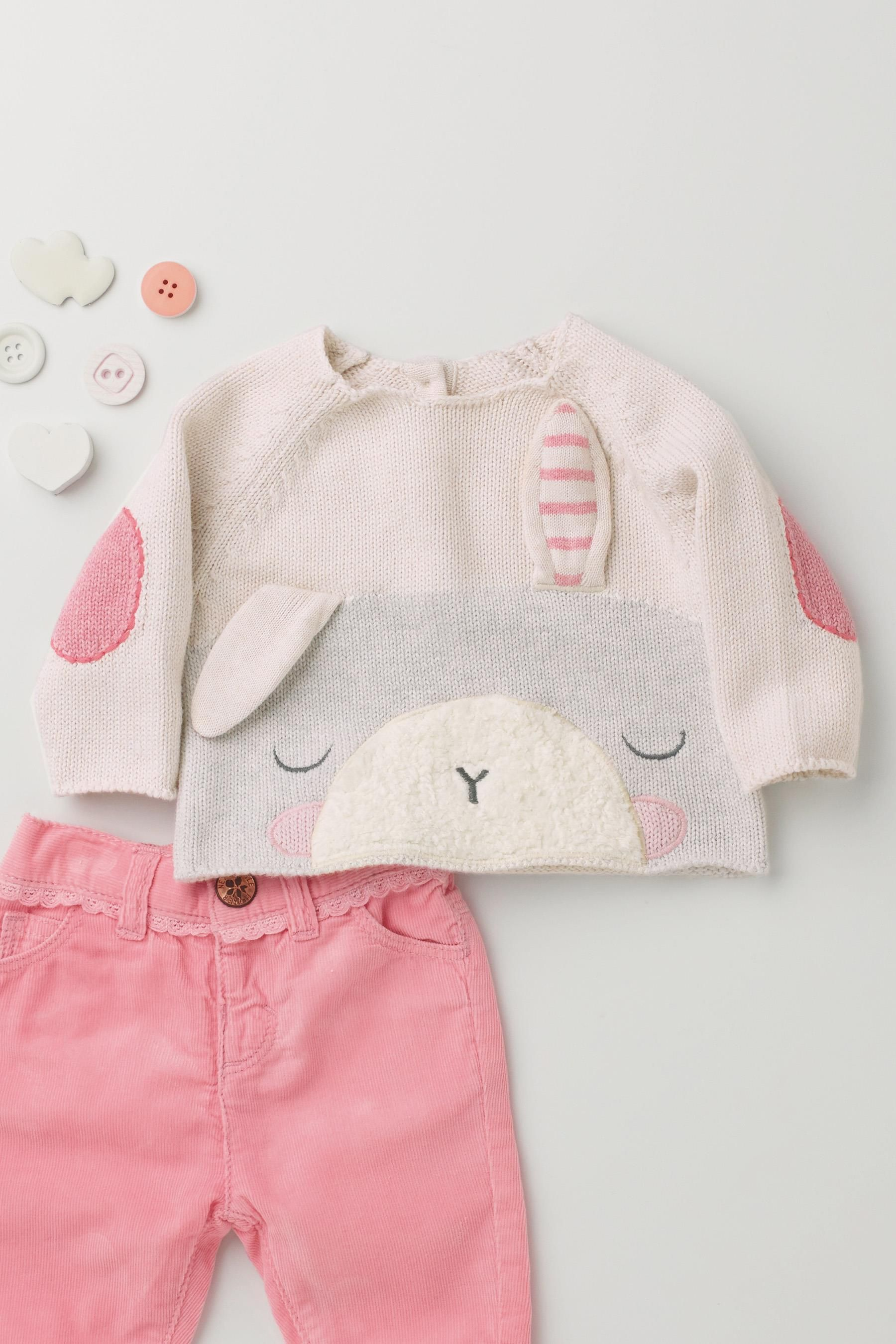 Buy Bunny Knit Jumper 0 18mths from the Next UK online shop