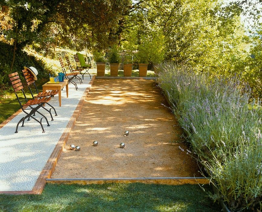 Let S Play Petanque Playground Landscaping Outdoor Landscape Design