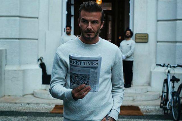 David Beckham vuelve a la carga con nuevos Modern Essentials para H&M   Rayas y Cuadros: Blog de Moda Masculina
