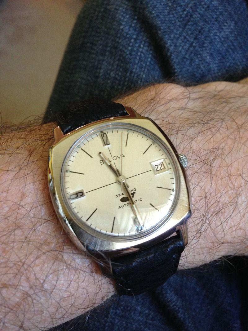 Bulova watch dive vintage sale