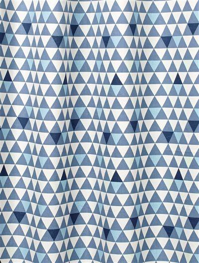 vertbaudet vorhang kinderstoffe c10 kinderzimmer pinterest rauten dreieck und farbig. Black Bedroom Furniture Sets. Home Design Ideas
