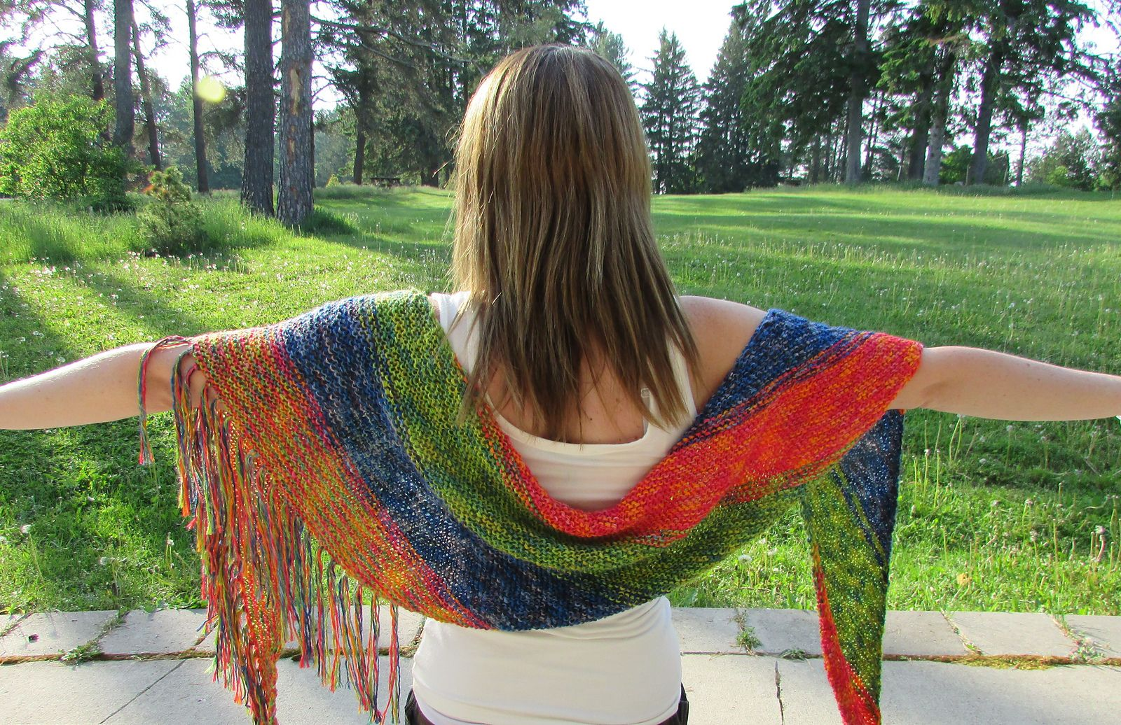 Ravelry: SUMMERTIME Shawl pattern by Michele C Meadows | TUTORIALS-C ...