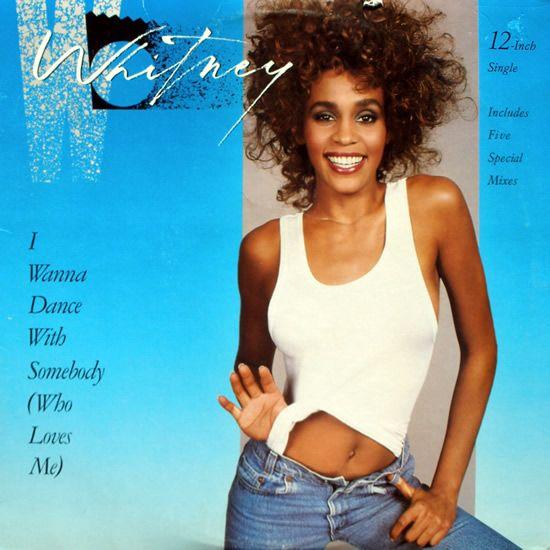 Whitney Houston – I Wanna Dance with Somebody (single cover art)