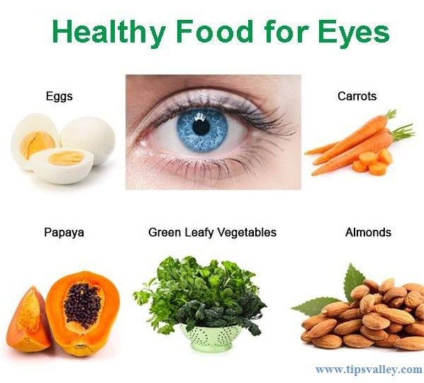 The Best Foods For Eye Health Eye Health Food Food For Eyes Healthy Recipes