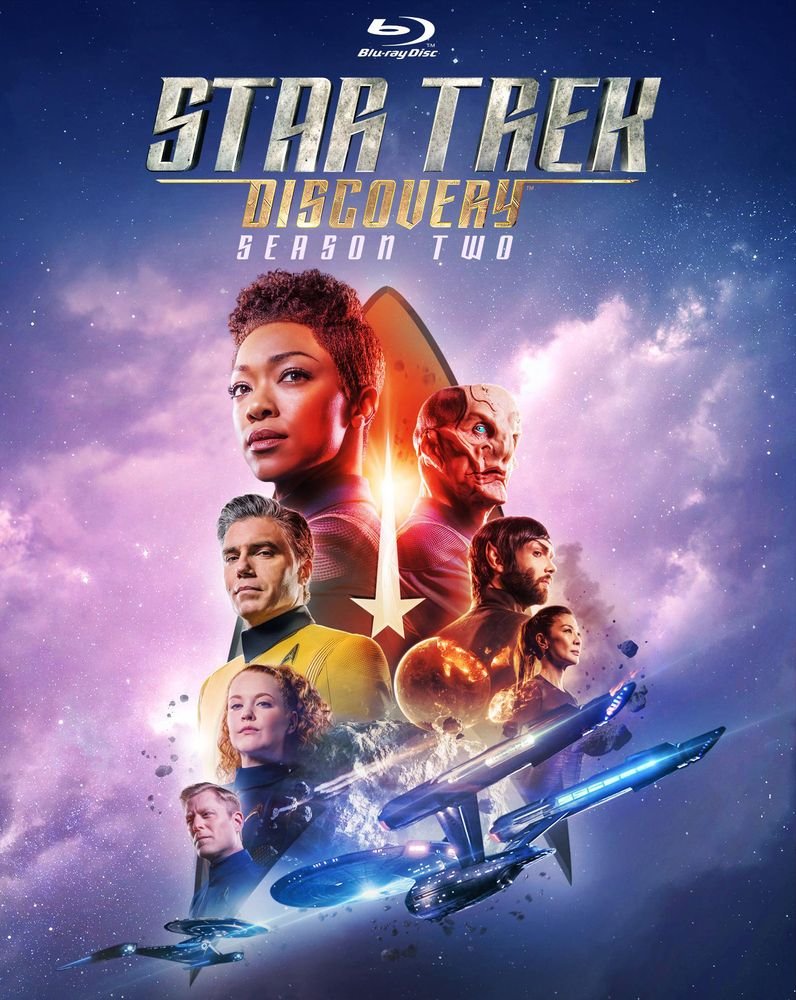 Star Trek Discovery Season Two Blu Ray Star Trek Trek Blu