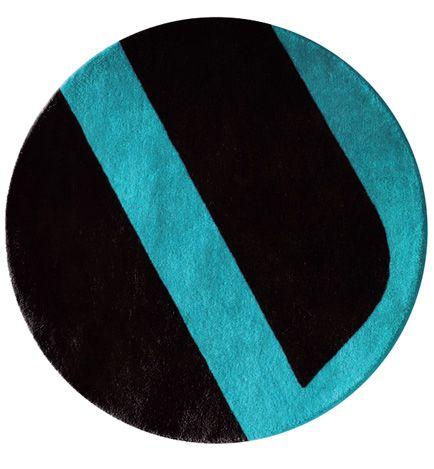 velour round rug | second studio