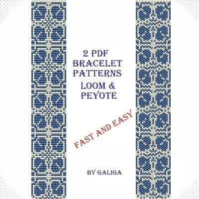Loom And Peyote Bracelet Patterns For The Use Of Miyuki Delica Size Interesting Bead Loom Patterns For Beginners