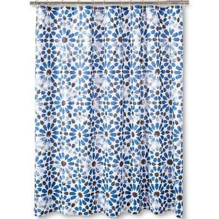 Royal Blue Shower Curtain Google Search Floral Shower Curtains