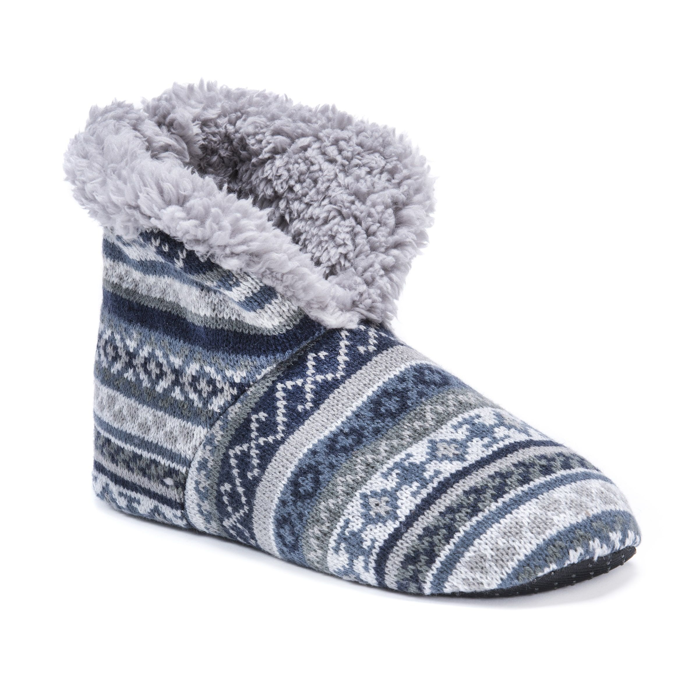 543410fc3b446 MUK Luks® Men's Slipper Booties | Slippers | Mens slippers, Slippers ...