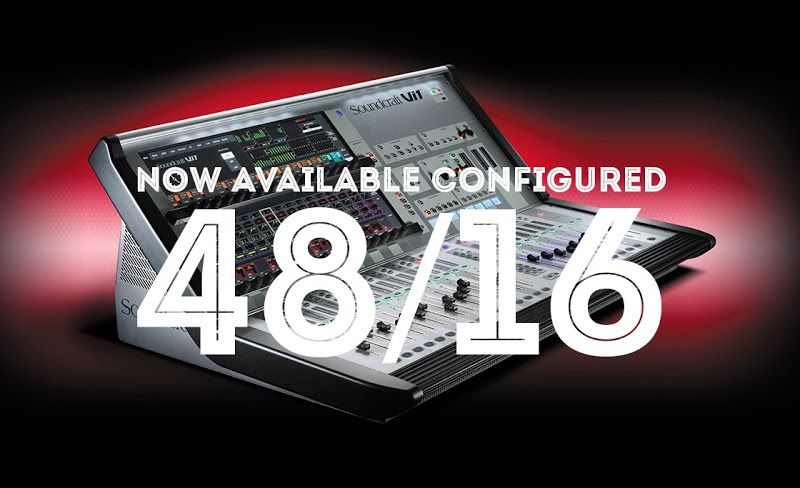 Soundcraft Vi1 Now Available Configured With 48 Local Inputs See More At Http Www Soundtech Co Uk Soundcraft News Vi1 48 16 Software Update Digital Locals