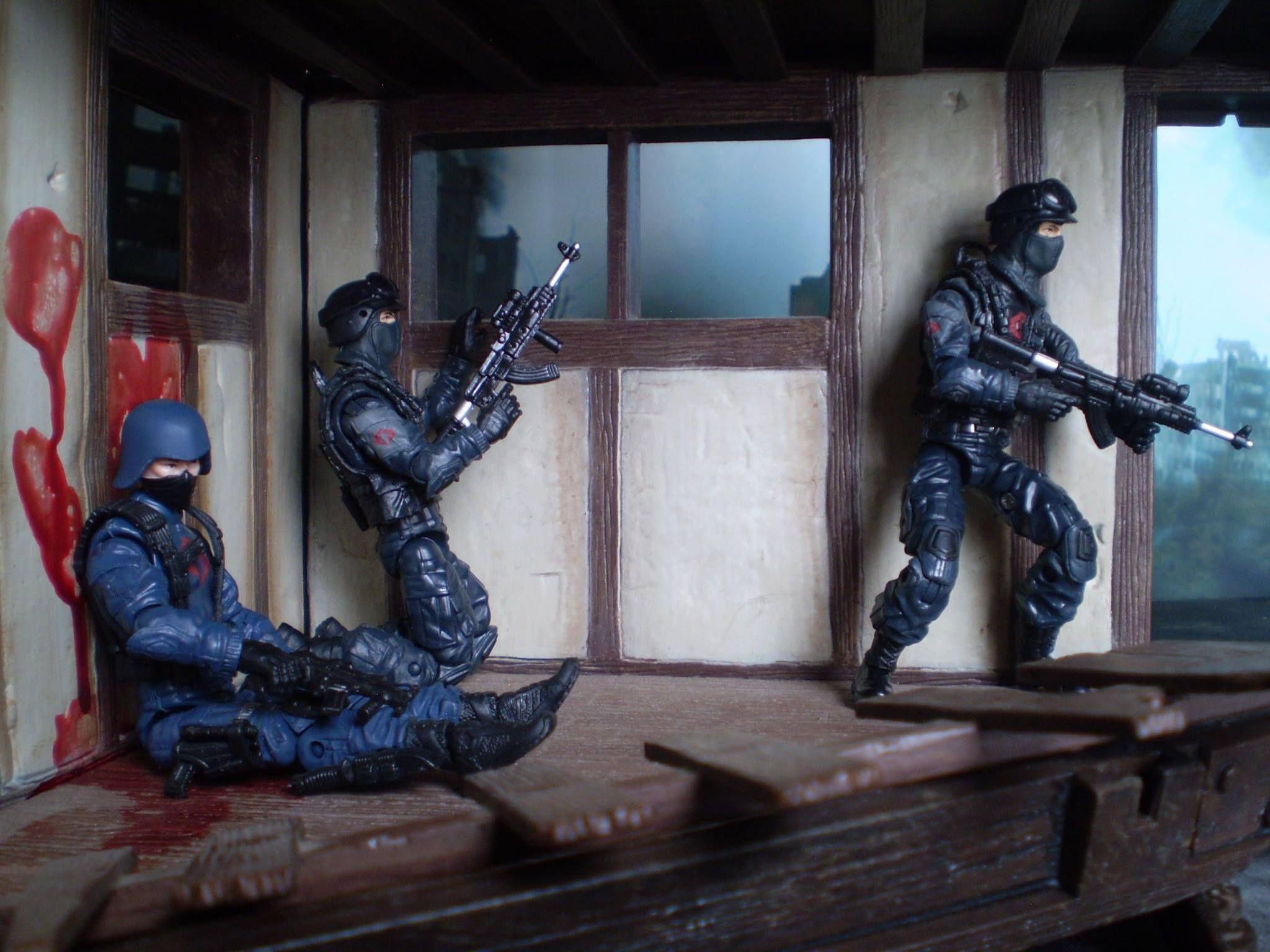 Gi Joe Surprise Attack On Cobra Soilders