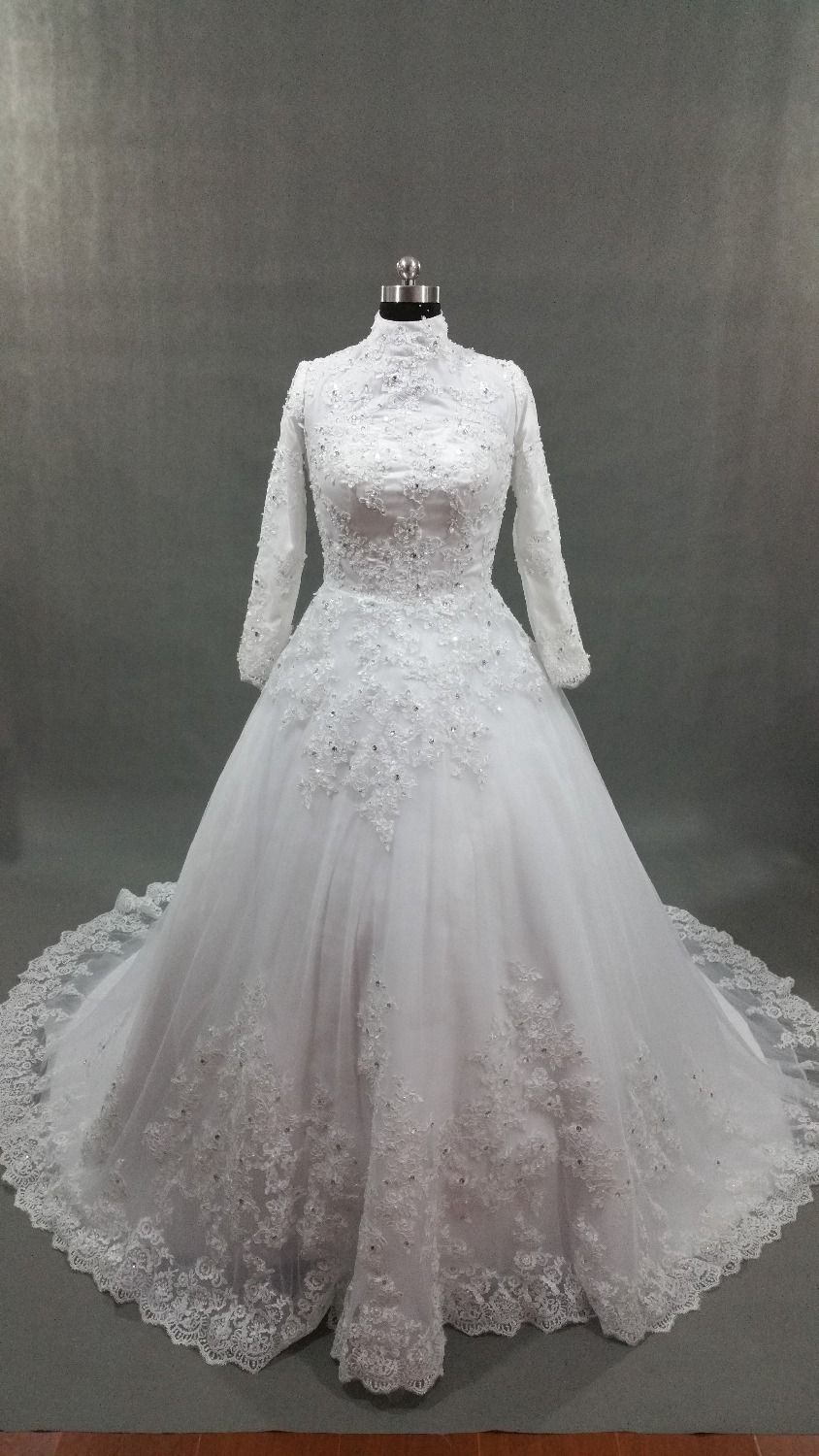 Cheap sleeve wedding gown buy quality long sleeve wedding gown