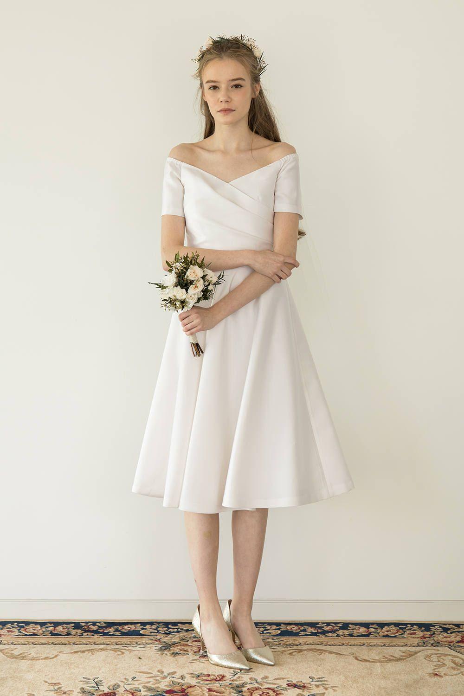 35+ White silk wrap wedding dress ideas