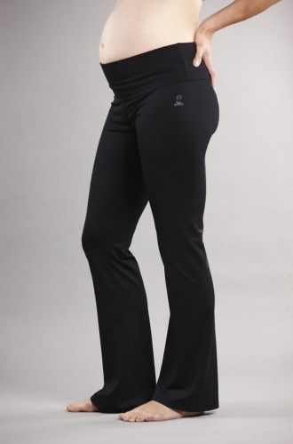 Maternity Fitness Pants - Maternity Workout Clothes and Activewear for Prenatal Fitness - For Two Fitness