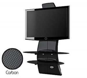 Meliconi Tv Meubel.Meliconi Ghost Design Tv Stand Coal Black In Just 183 44 The